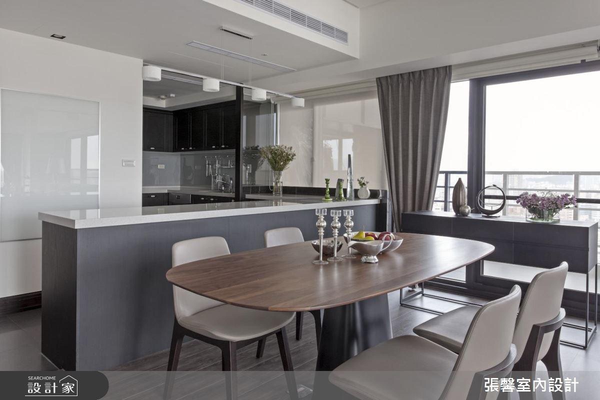 46坪新成屋(5年以下)_美式風餐廳吧檯案例圖片_瀚觀室內裝修設計工程股份有限公司_張馨_47之5