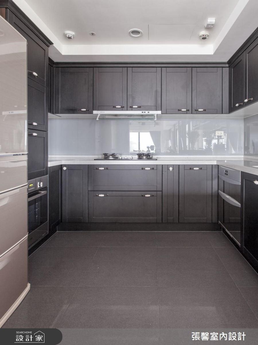 46坪新成屋(5年以下)_美式風廚房案例圖片_瀚觀室內裝修設計工程股份有限公司_張馨_47之6