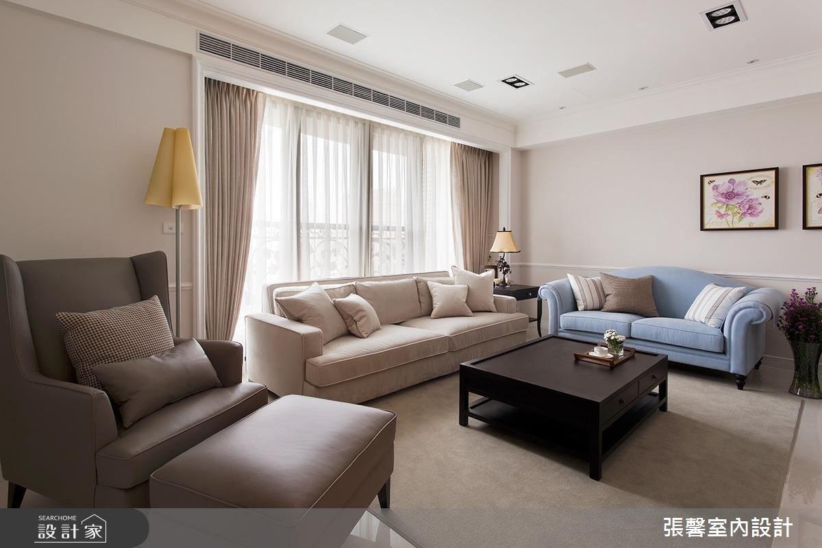 39坪新成屋(5年以下)_美式風客廳案例圖片_瀚觀室內裝修設計工程股份有限公司_張馨_49之3