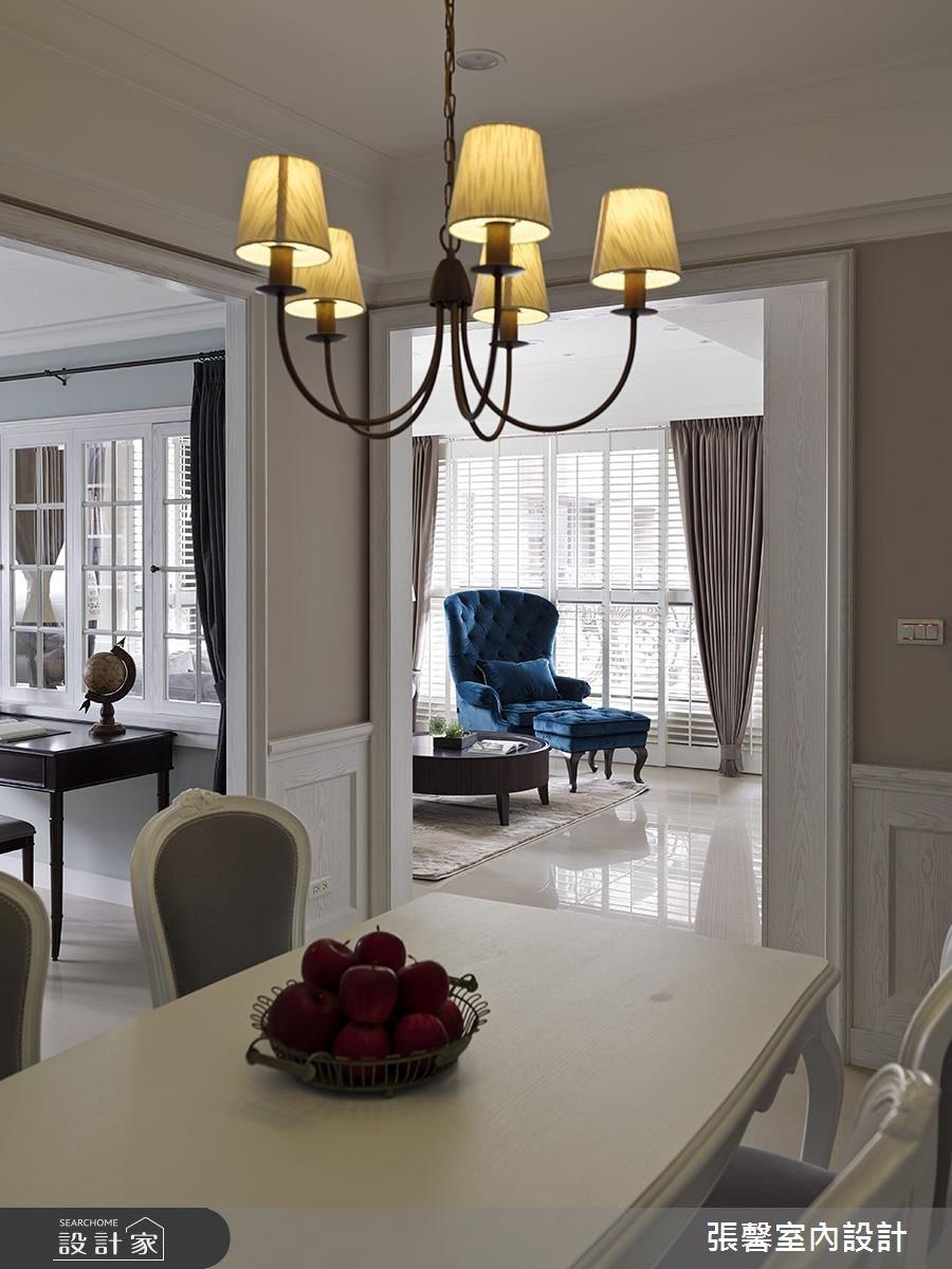 34坪新成屋(5年以下)_美式風餐廳案例圖片_瀚觀室內裝修設計工程股份有限公司_張馨_52之5