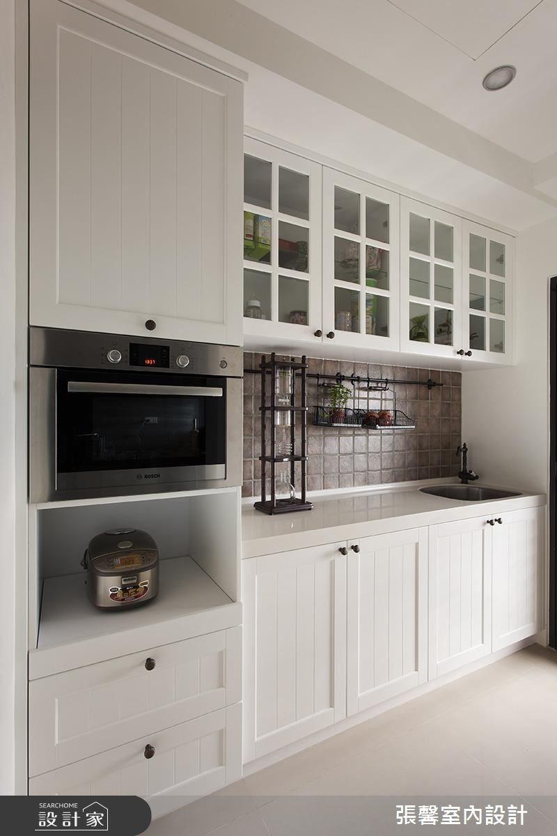 34坪新成屋(5年以下)_美式風廚房案例圖片_瀚觀室內裝修設計工程股份有限公司_張馨_52之8