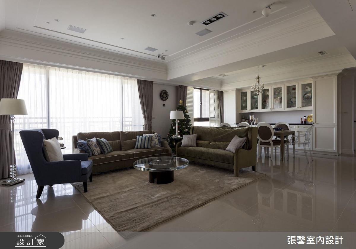 74坪新成屋(5年以下)_美式風客廳餐廳案例圖片_瀚觀室內裝修設計工程股份有限公司_張馨_56之2