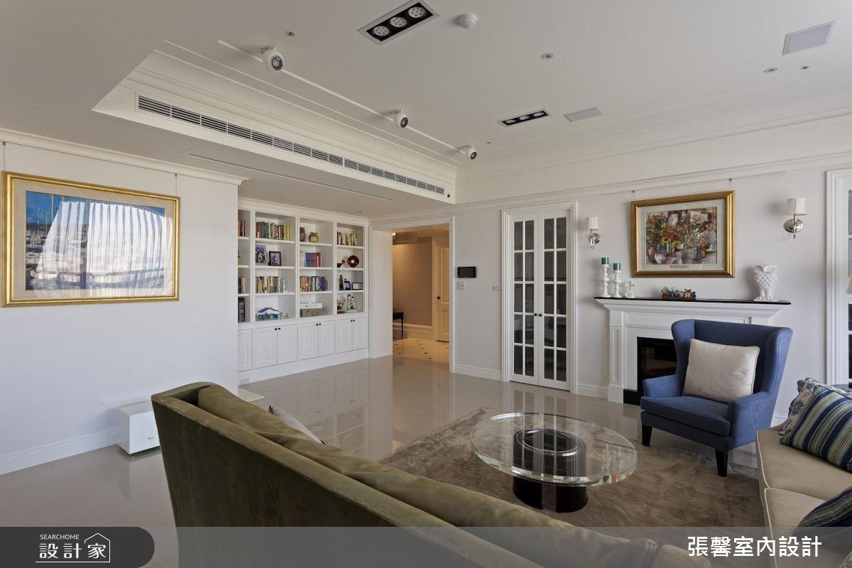 74坪新成屋(5年以下)_美式風客廳案例圖片_瀚觀室內裝修設計工程股份有限公司_張馨_56之3