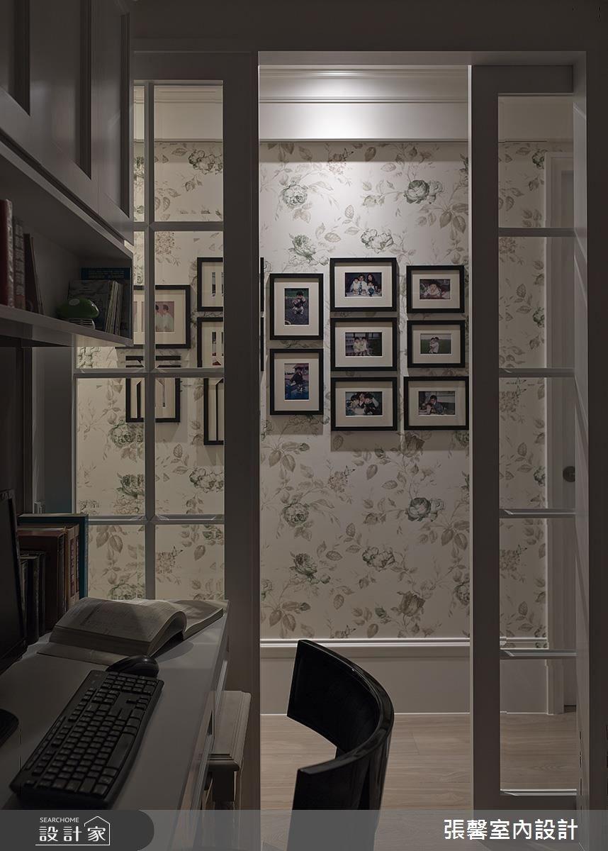 40坪新成屋(5年以下)_美式風書房案例圖片_瀚觀室內裝修設計工程股份有限公司_張馨_58之9