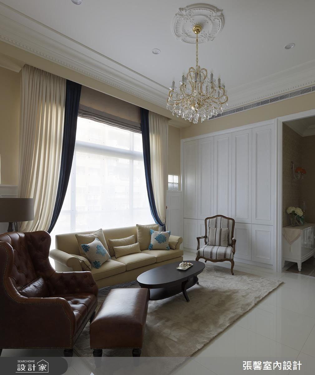 50坪老屋(16~30年)_新古典客廳案例圖片_瀚觀室內裝修設計工程股份有限公司_張馨_64之3
