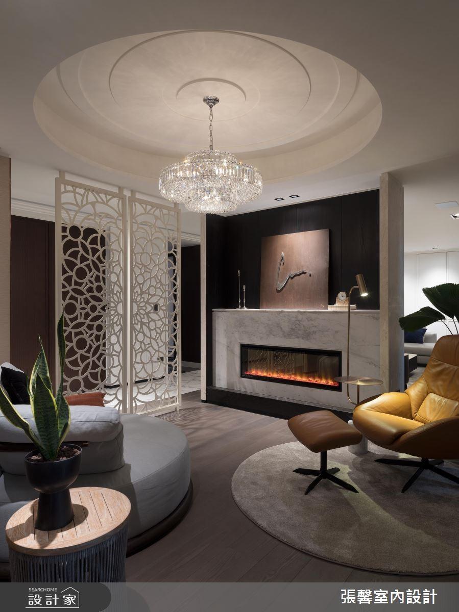 60坪新成屋(5年以下)_美式風客廳案例圖片_瀚觀室內裝修設計工程股份有限公司_張馨_72之3