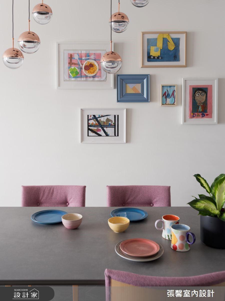 25坪新成屋(5年以下)_現代風餐廳案例圖片_瀚觀室內裝修設計工程股份有限公司_張馨_73之4