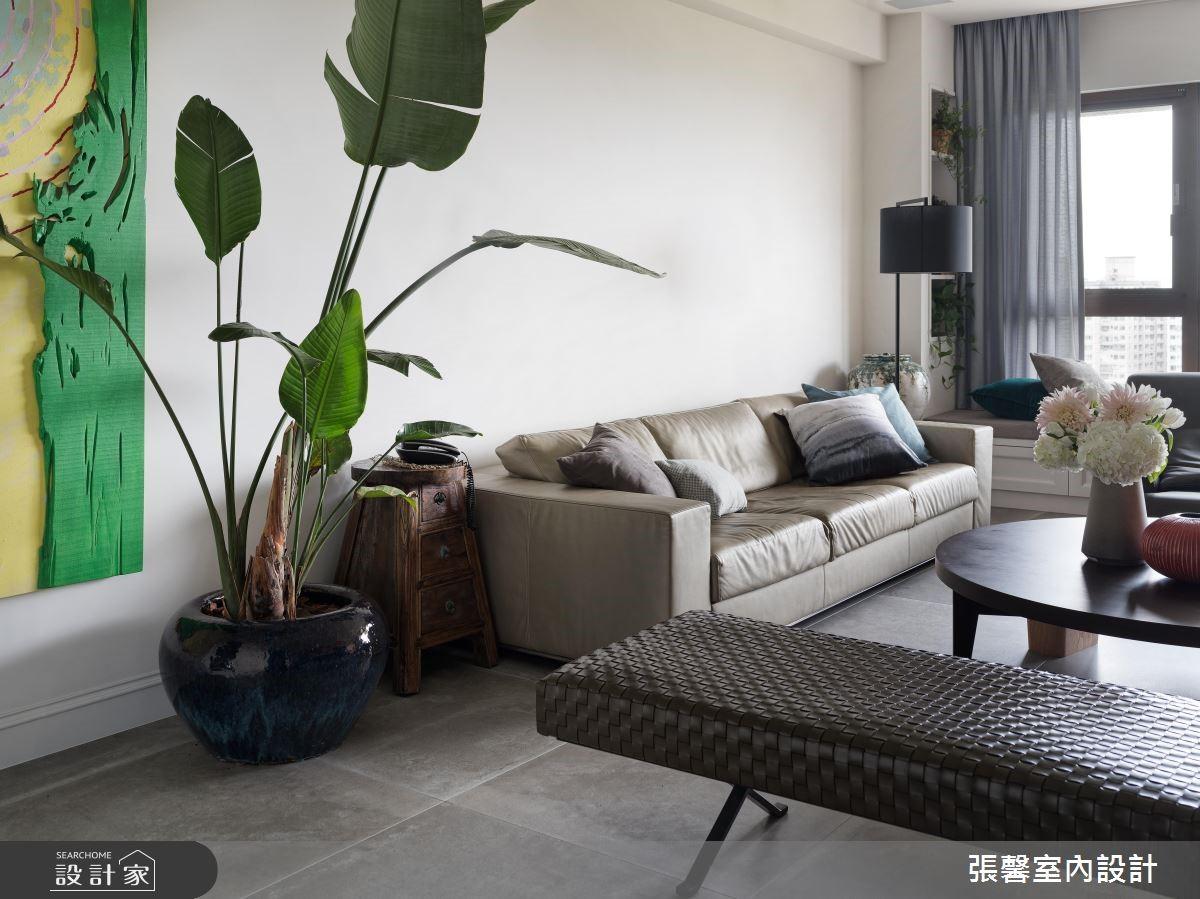 67坪預售屋_混搭風客廳案例圖片_瀚觀室內裝修設計工程股份有限公司_張馨_74之3
