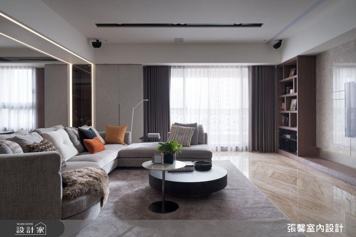 47坪新成屋(5年以下)_混搭風客廳案例圖片_瀚觀室內裝修設計工程股份有限公司_張馨_76之2