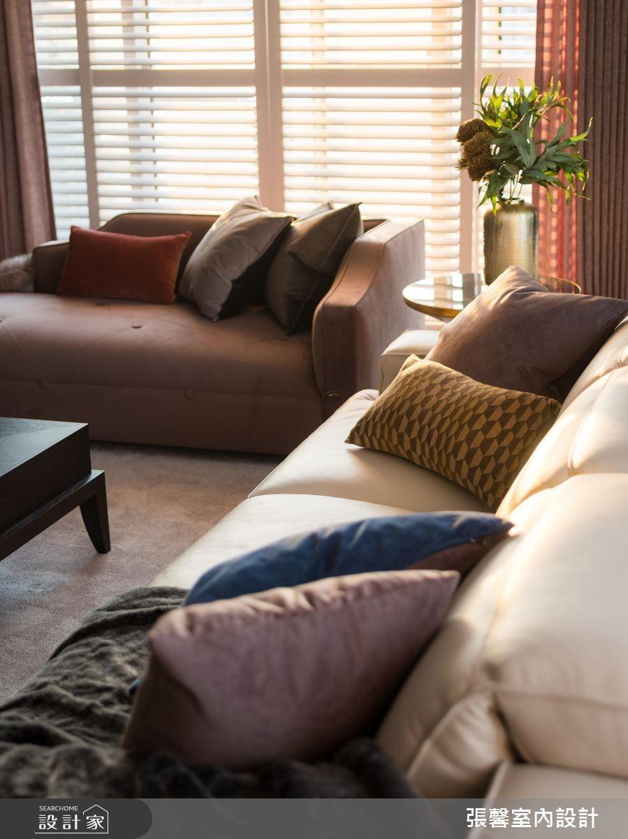 43坪新成屋(5年以下)_現代風客廳案例圖片_瀚觀室內裝修設計工程股份有限公司_張馨_77之3