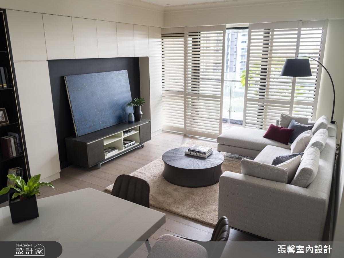 24坪新成屋(5年以下)_現代風客廳案例圖片_瀚觀室內裝修設計工程股份有限公司_張馨_78之4