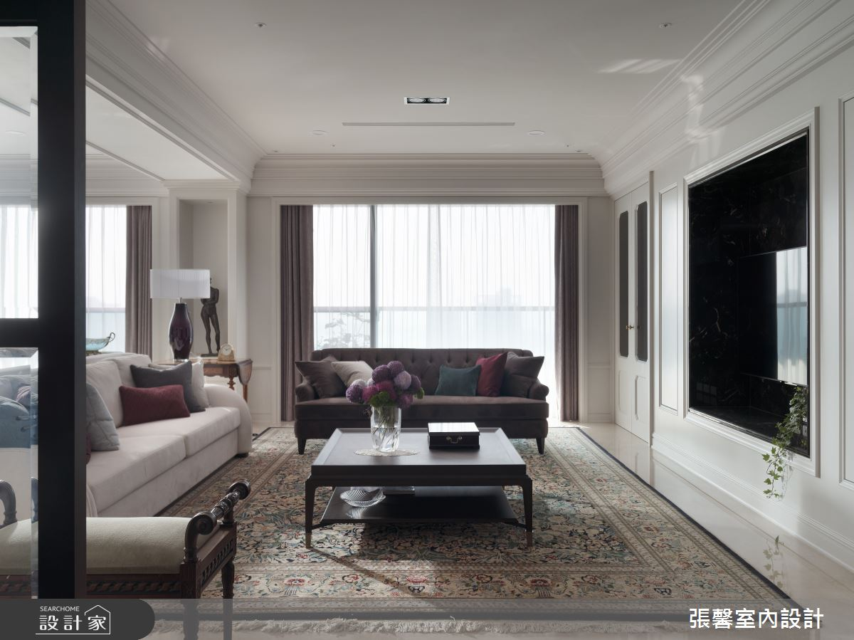122坪新成屋(5年以下)_混搭風客廳案例圖片_瀚觀室內裝修設計工程股份有限公司_張馨_80之3