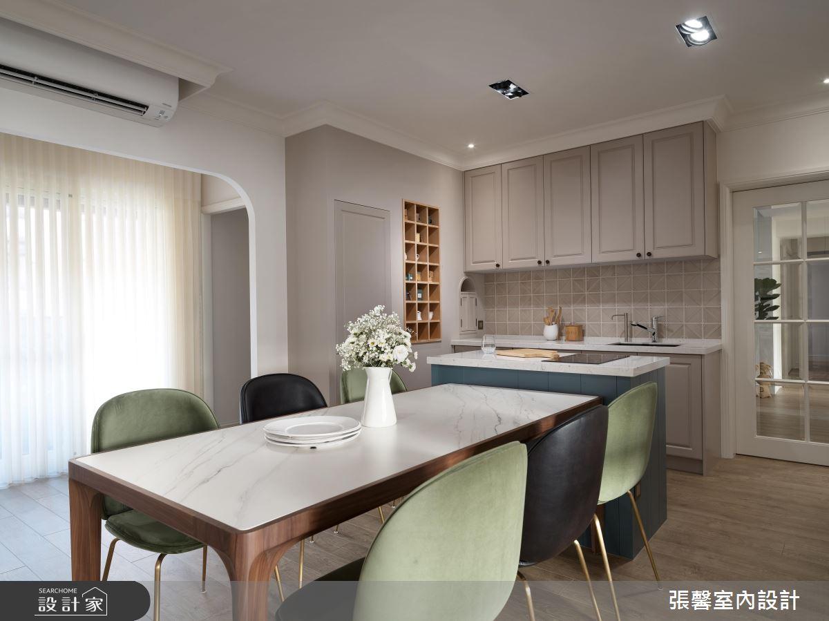 48坪老屋(16~30年)_美式風餐廳案例圖片_瀚觀室內裝修設計工程股份有限公司_張馨_84之5