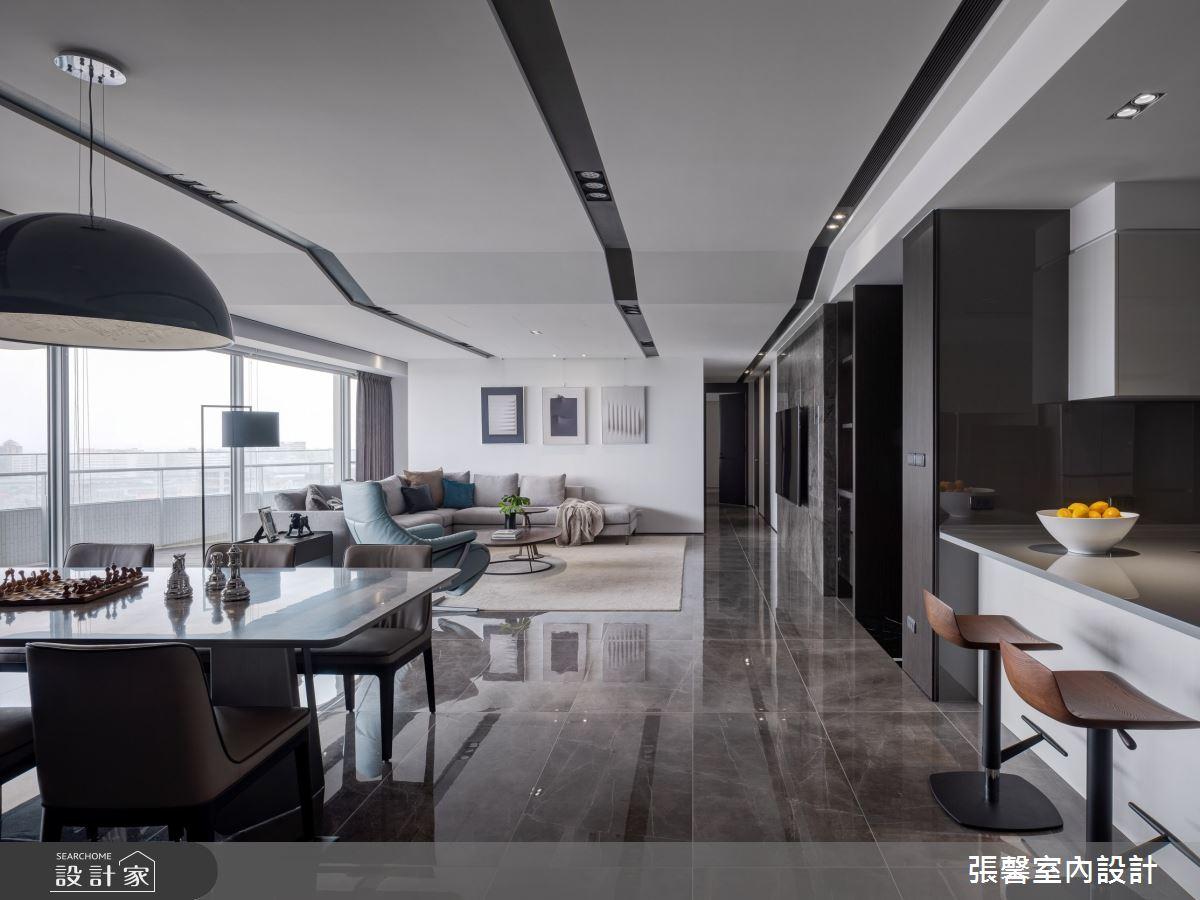 73坪新成屋(5年以下)_現代風餐廳案例圖片_瀚觀室內裝修設計工程股份有限公司_張馨_86之7