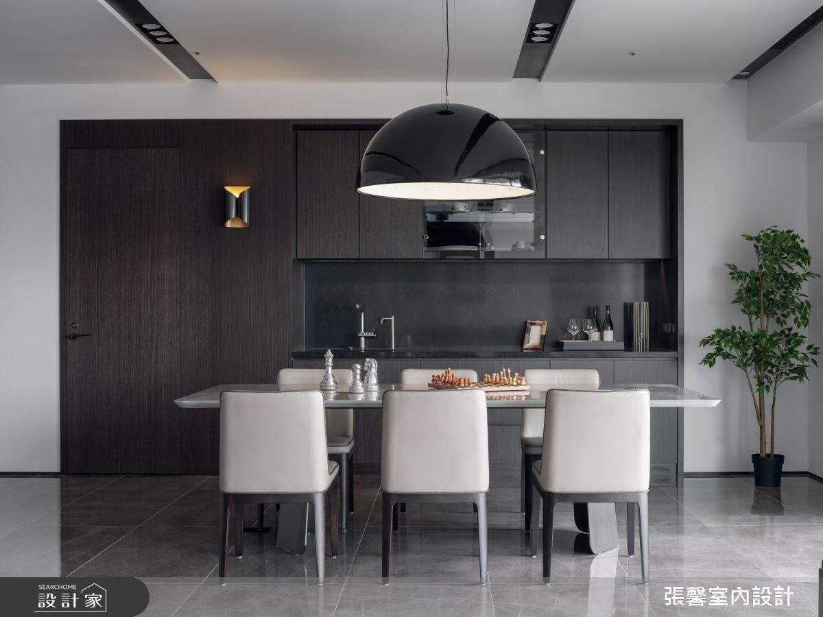 73坪新成屋(5年以下)_現代風餐廳案例圖片_瀚觀室內裝修設計工程股份有限公司_張馨_86之9