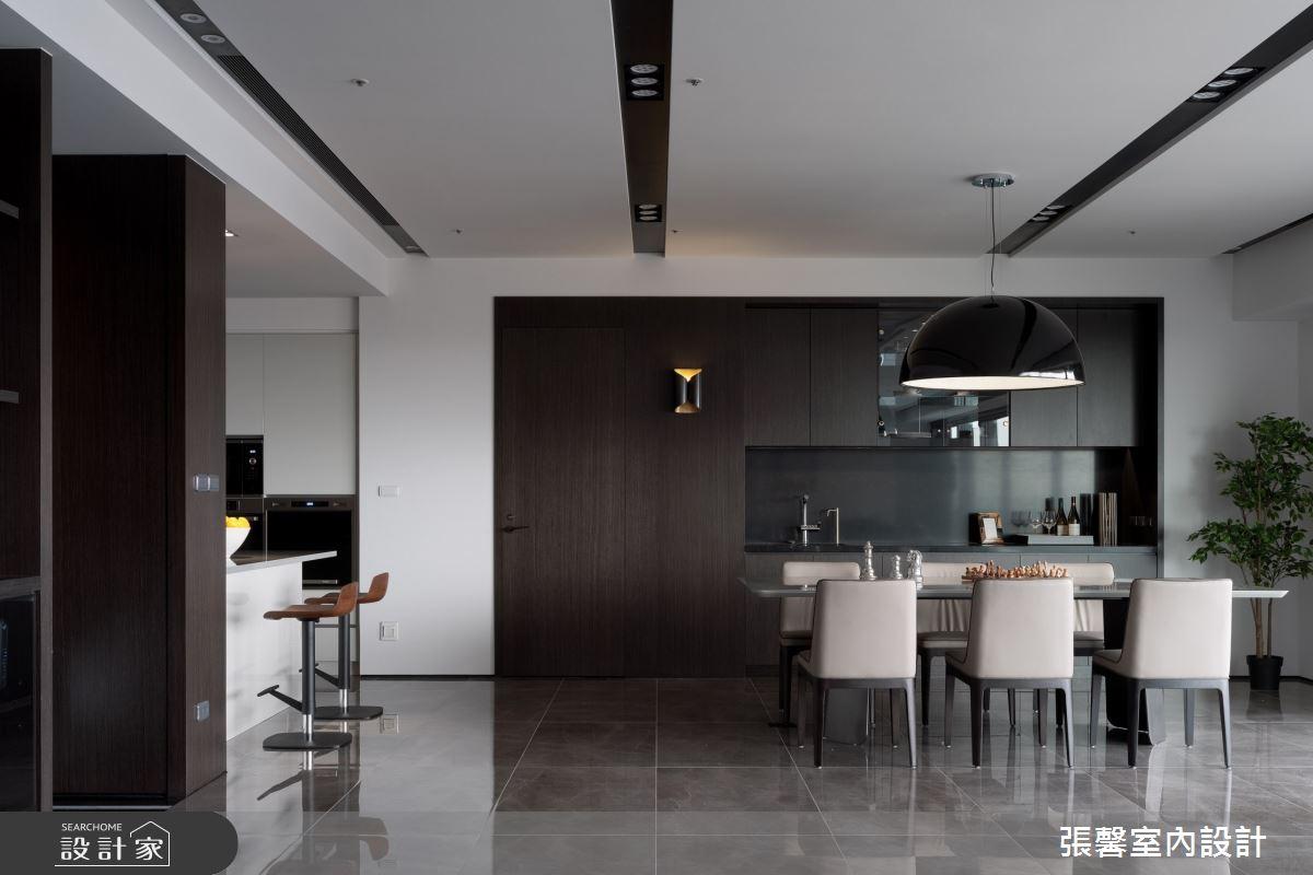 73坪新成屋(5年以下)_現代風餐廳案例圖片_瀚觀室內裝修設計工程股份有限公司_張馨_86之10