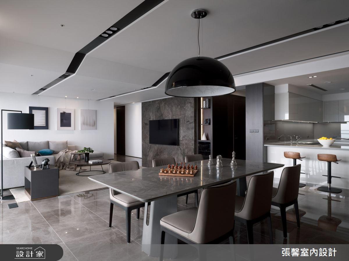 73坪新成屋(5年以下)_現代風餐廳案例圖片_瀚觀室內裝修設計工程股份有限公司_張馨_86之8