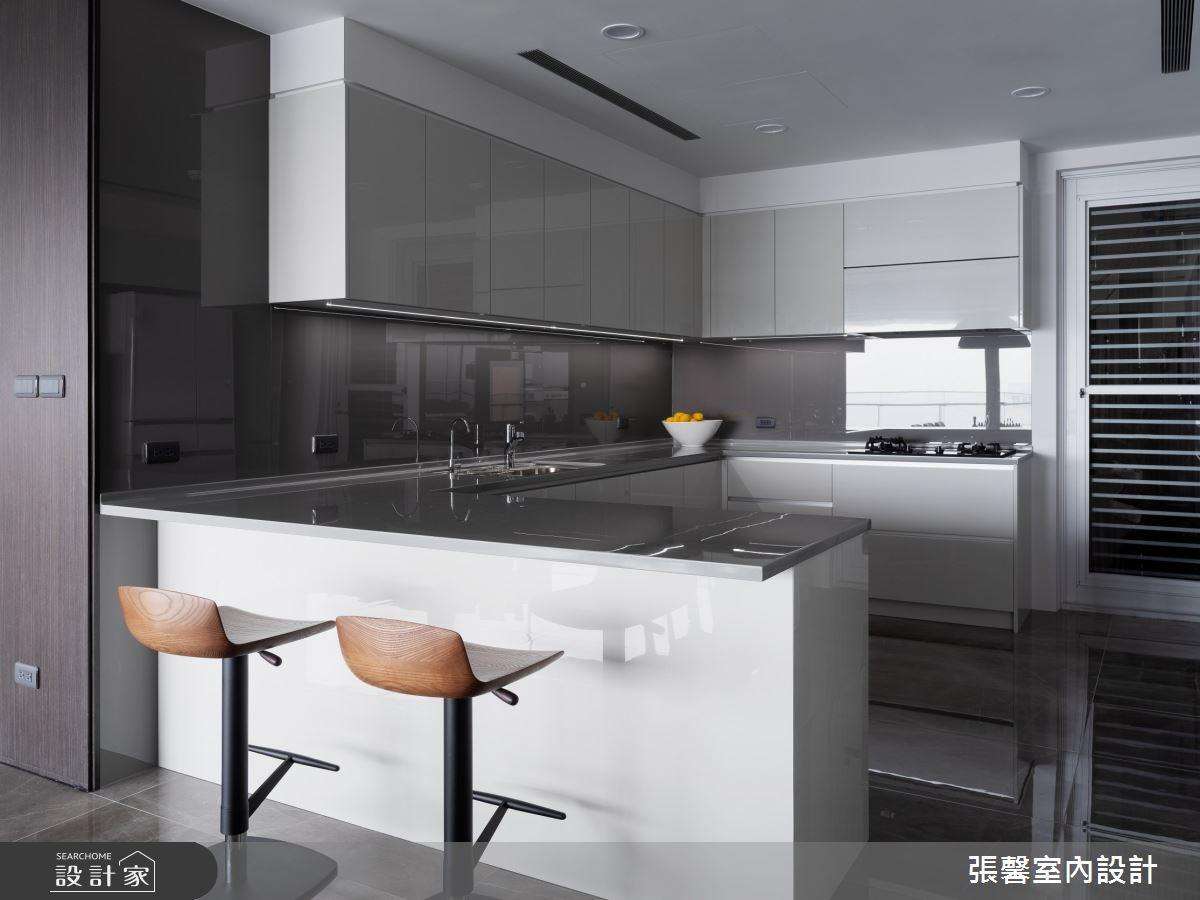73坪新成屋(5年以下)_現代風廚房吧檯案例圖片_瀚觀室內裝修設計工程股份有限公司_張馨_86之11