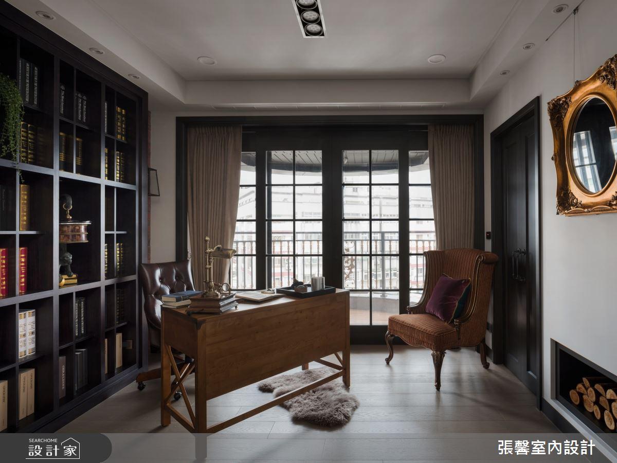新成屋(5年以下)_混搭風書房案例圖片_瀚觀室內裝修設計工程股份有限公司_張馨_87之2