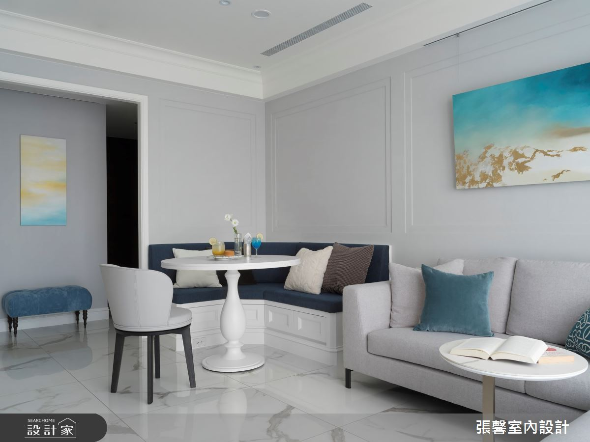25坪新成屋(5年以下)_美式風客廳餐廳案例圖片_瀚觀室內裝修設計工程股份有限公司_張馨_90之3