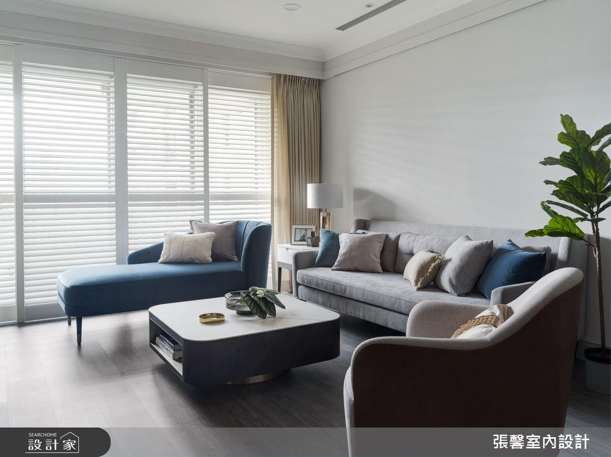 37坪預售屋_美式風客廳案例圖片_瀚觀室內裝修設計工程股份有限公司_張馨_91之4