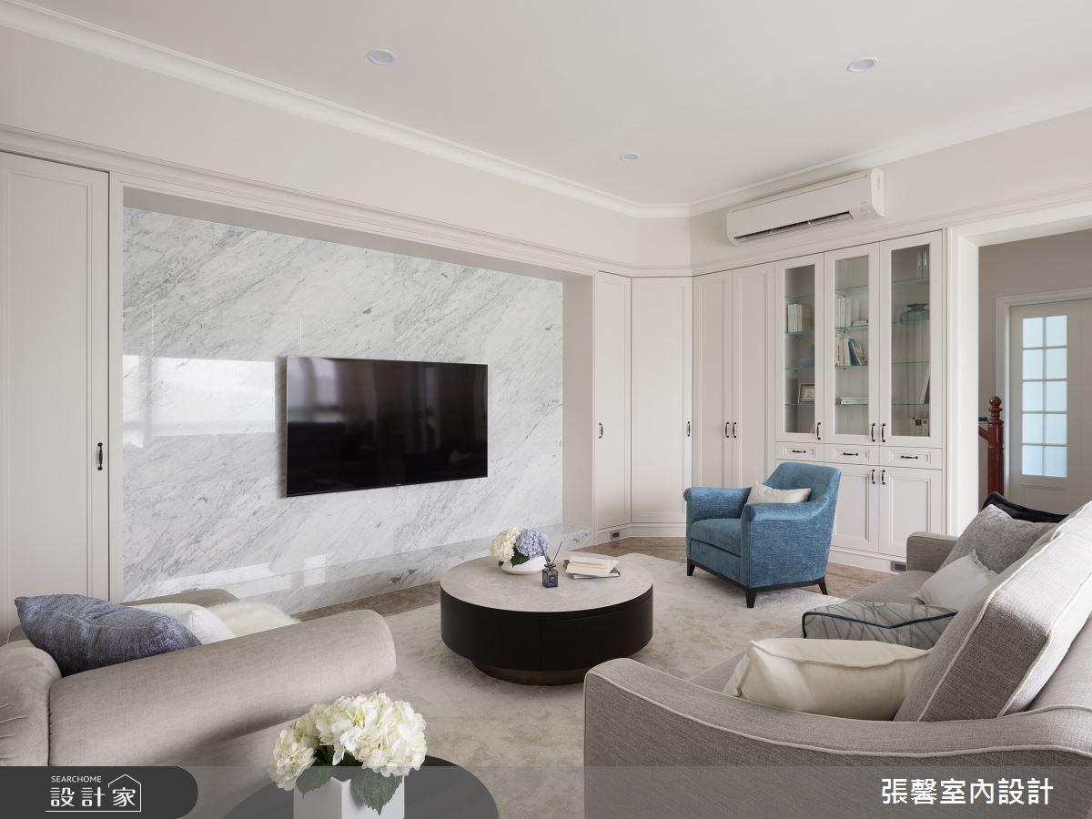 106坪新成屋(5年以下)_美式風客廳案例圖片_瀚觀室內裝修設計工程股份有限公司_張馨_97之3