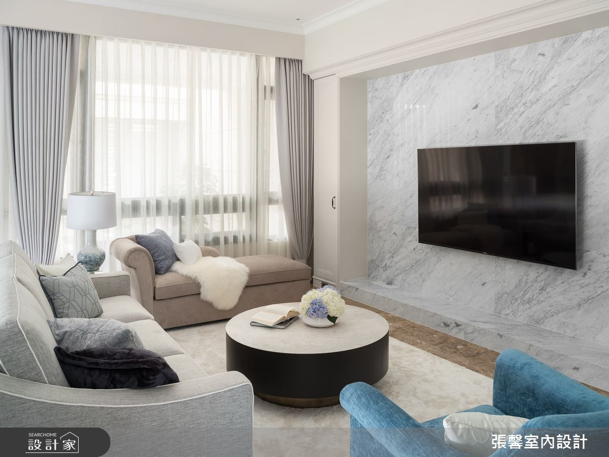 106坪新成屋(5年以下)_美式風客廳案例圖片_瀚觀室內裝修設計工程股份有限公司_張馨_97之6