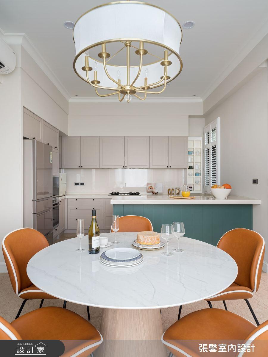 106坪新成屋(5年以下)_美式風餐廳廚房吧檯案例圖片_瀚觀室內裝修設計工程股份有限公司_張馨_97之7