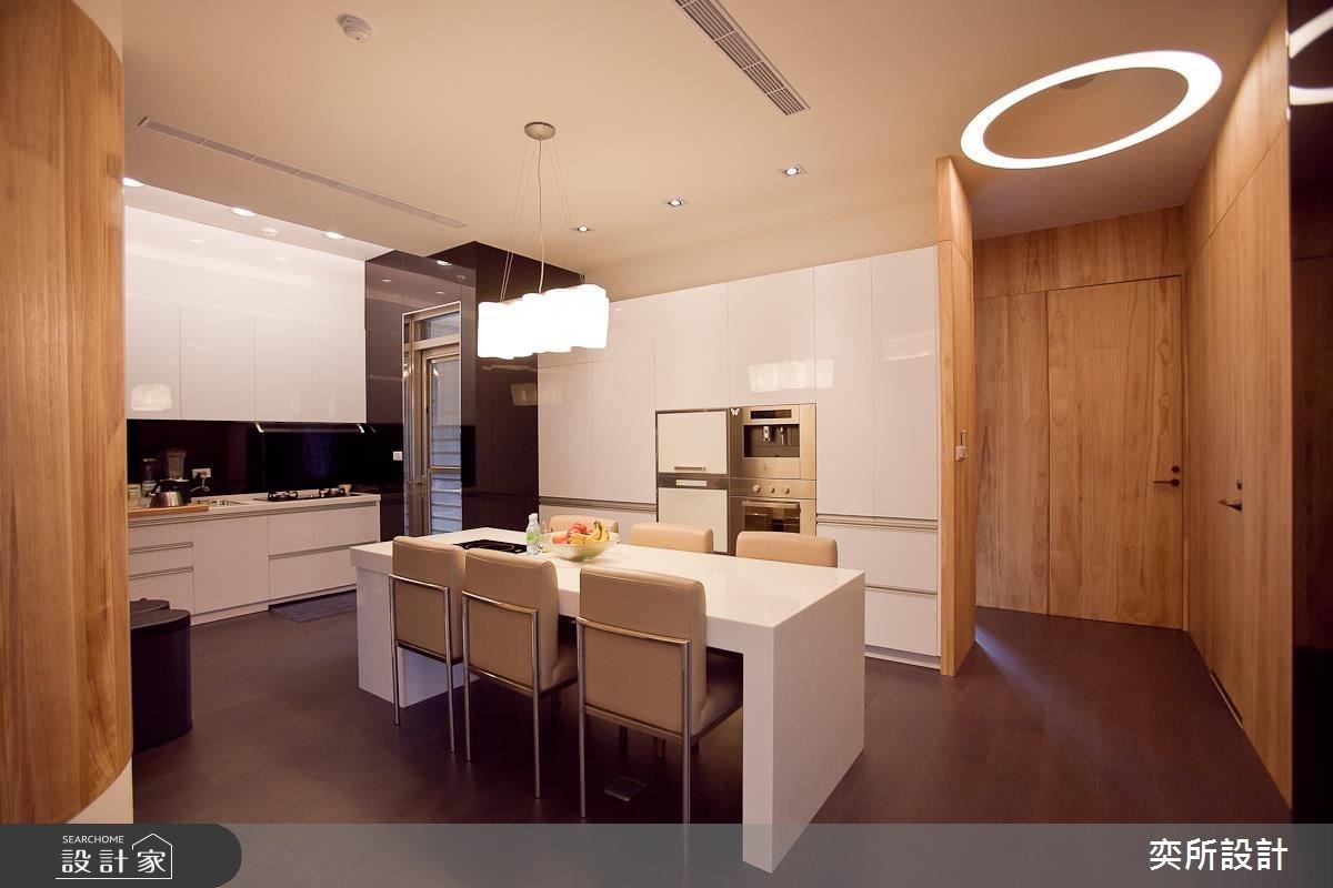 140坪新成屋(5年以下)_現代風餐廳案例圖片_奕所設計_奕所_02之3