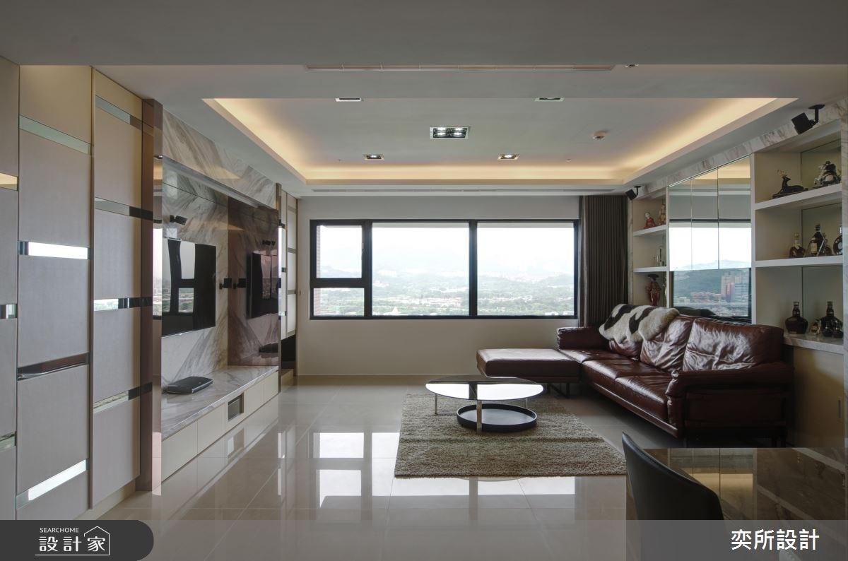 27坪新成屋(5年以下)_現代風客廳案例圖片_奕所設計_奕所_03之3