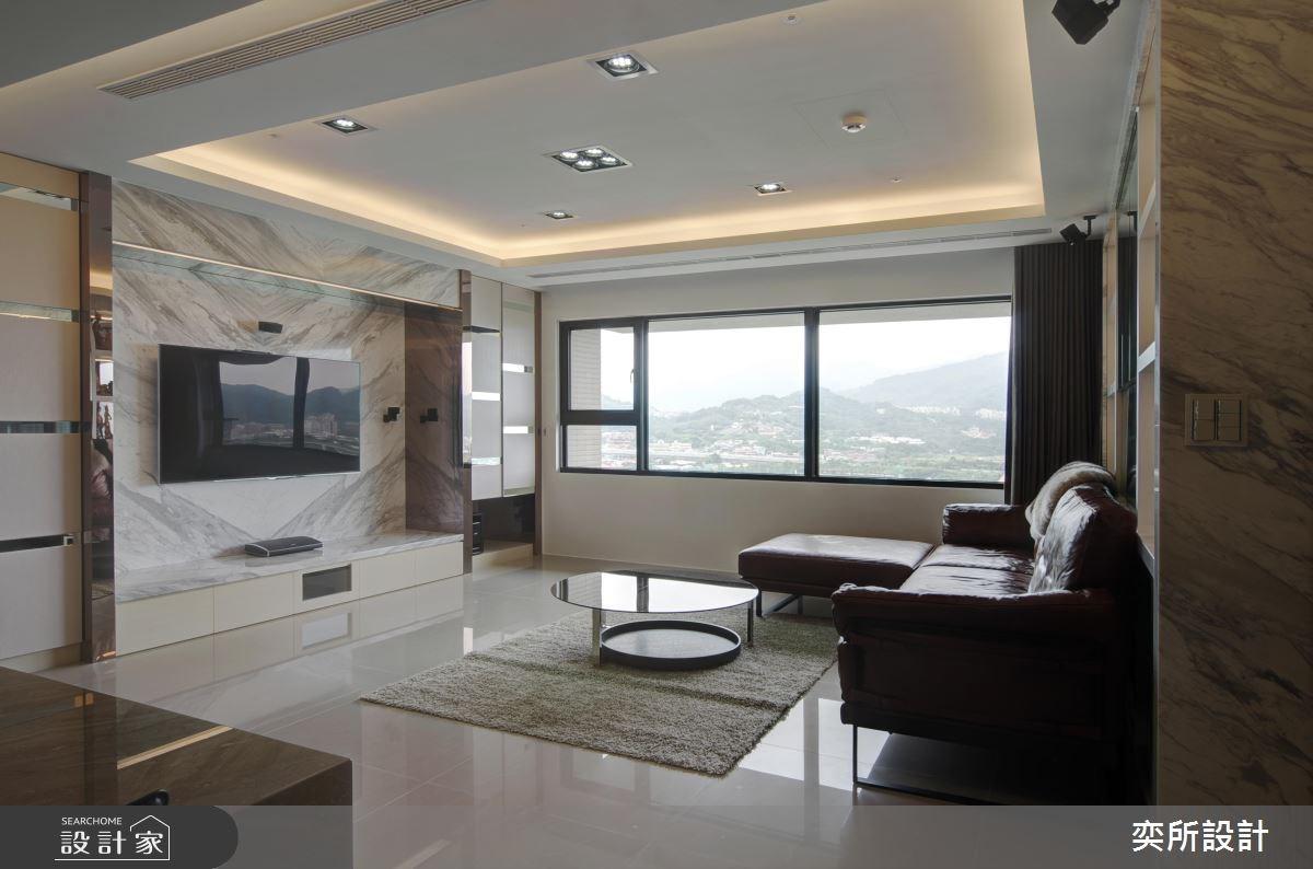 27坪新成屋(5年以下)_現代風客廳案例圖片_奕所設計_奕所_03之4