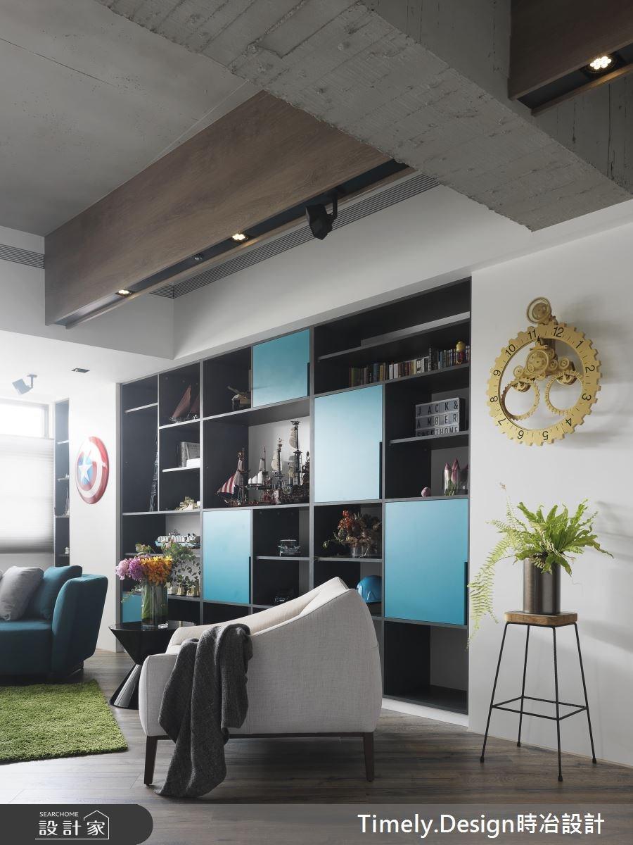 45坪新成屋(5年以下)_混搭風客廳案例圖片_時冶設計(時冶室內裝修股份有限公司)_時冶_04之4