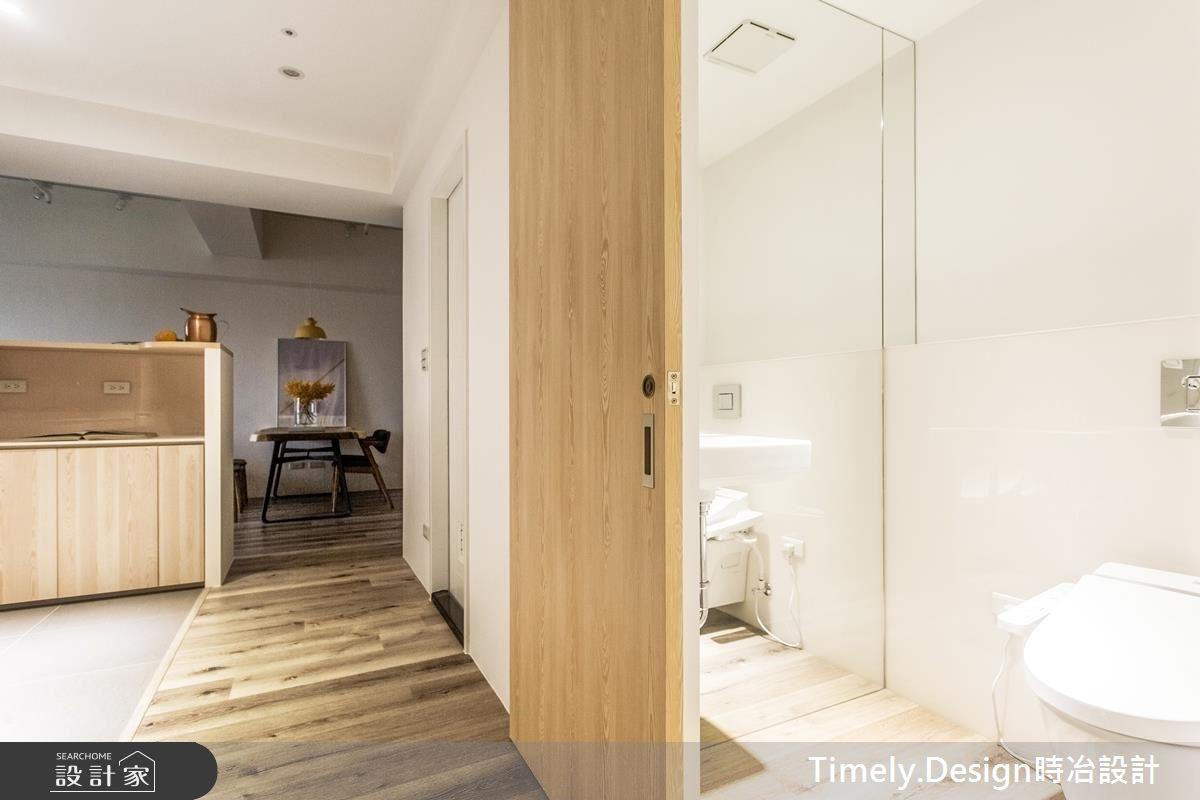 20坪新成屋(5年以下)_北歐風浴室走廊案例圖片_時冶設計(時冶室內裝修股份有限公司)_時冶_10之14