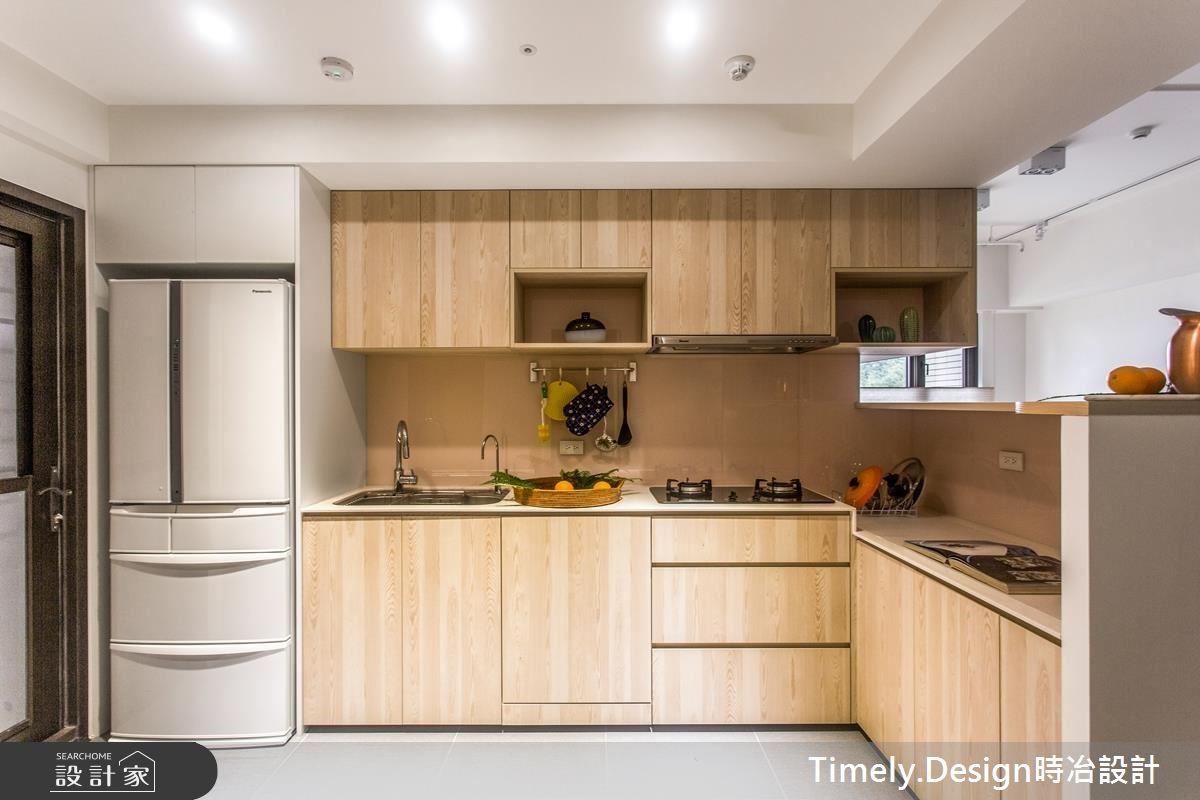 20坪新成屋(5年以下)_北歐風廚房案例圖片_時冶設計(時冶室內裝修股份有限公司)_時冶_10之11