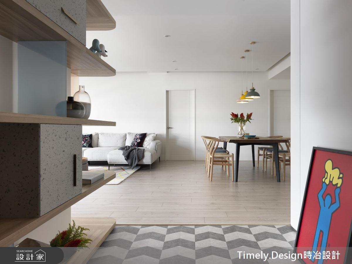 35坪新成屋(5年以下)_北歐風餐廳案例圖片_時冶設計(時冶室內裝修股份有限公司)_時冶_11之3