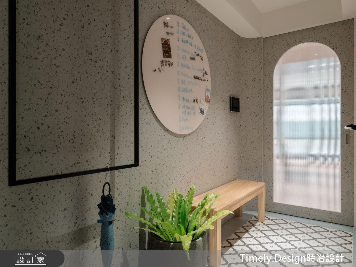 30坪新成屋(5年以下)_北歐風玄關案例圖片_時冶設計(時冶室內裝修股份有限公司)_時冶_13之1