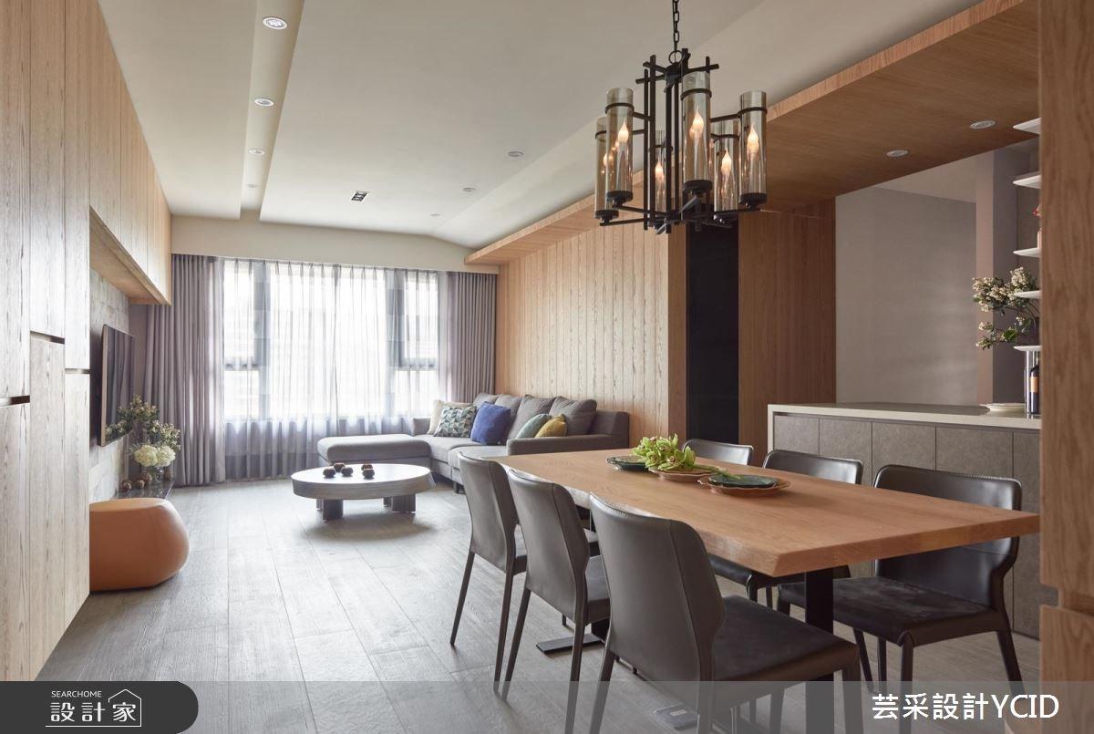 45坪新成屋(5年以下)_混搭風餐廳案例圖片_芸采創意空間設計公司_芸采_03之2