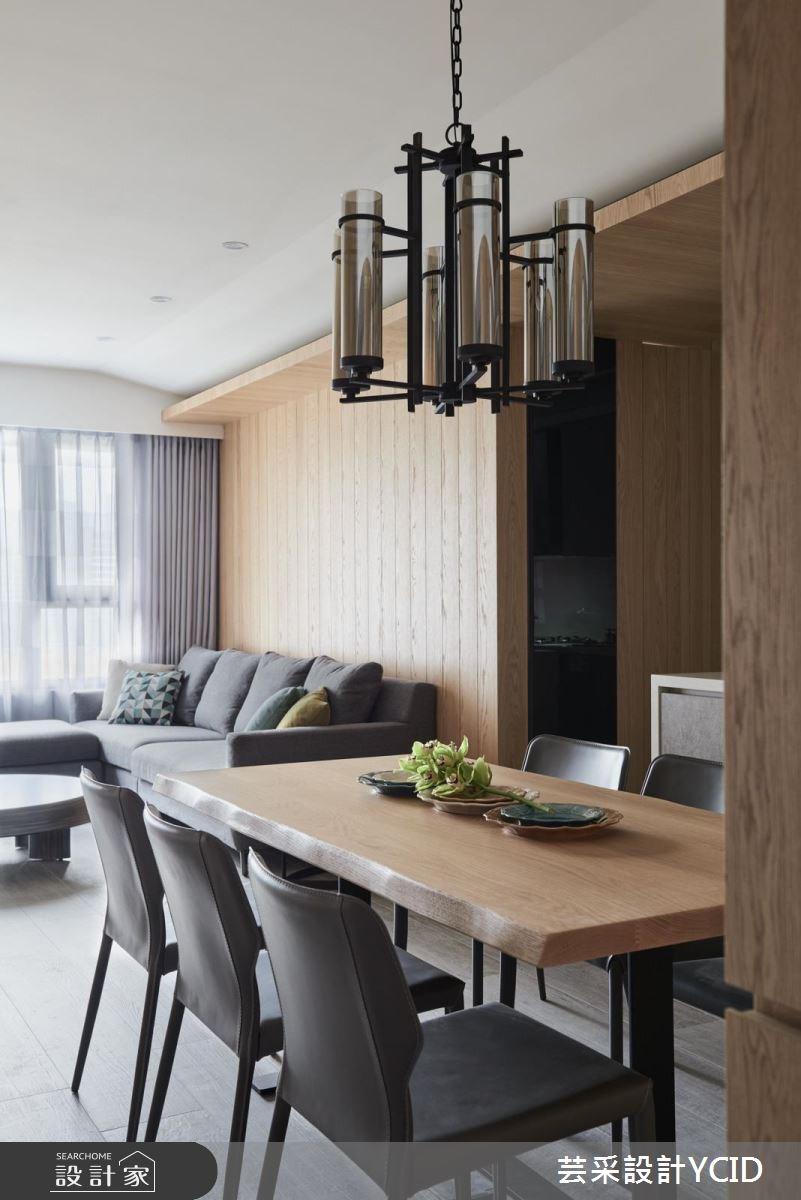 45坪新成屋(5年以下)_混搭風餐廳案例圖片_芸采創意空間設計公司_芸采_03之3