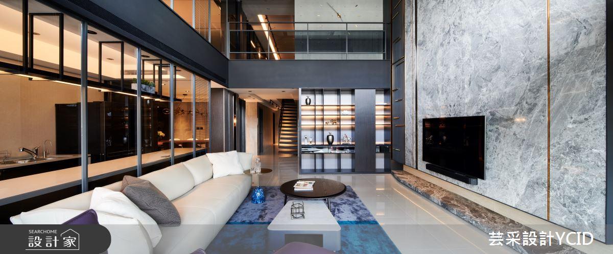 新成屋(5年以下)_奢華風客廳案例圖片_芸采創意空間設計公司_芸采_08之4