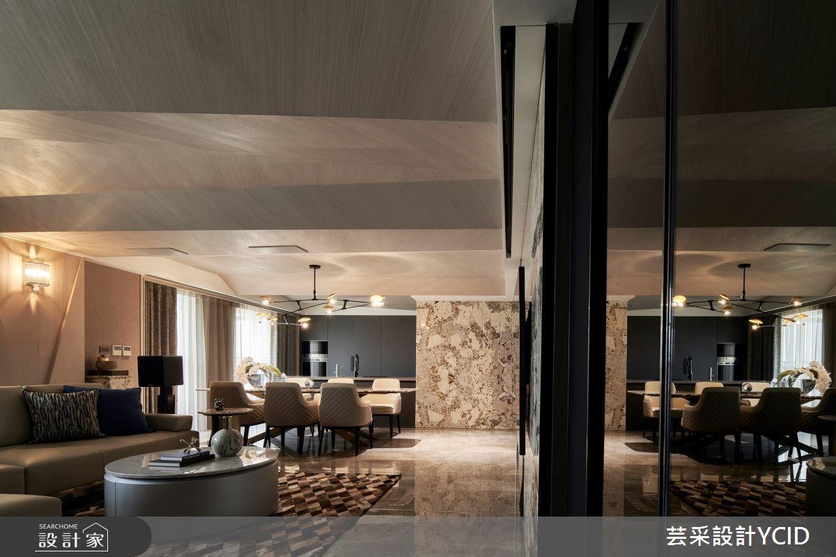 85坪新成屋(5年以下)_現代風客廳案例圖片_芸采創意空間設計公司_芸采_11之67