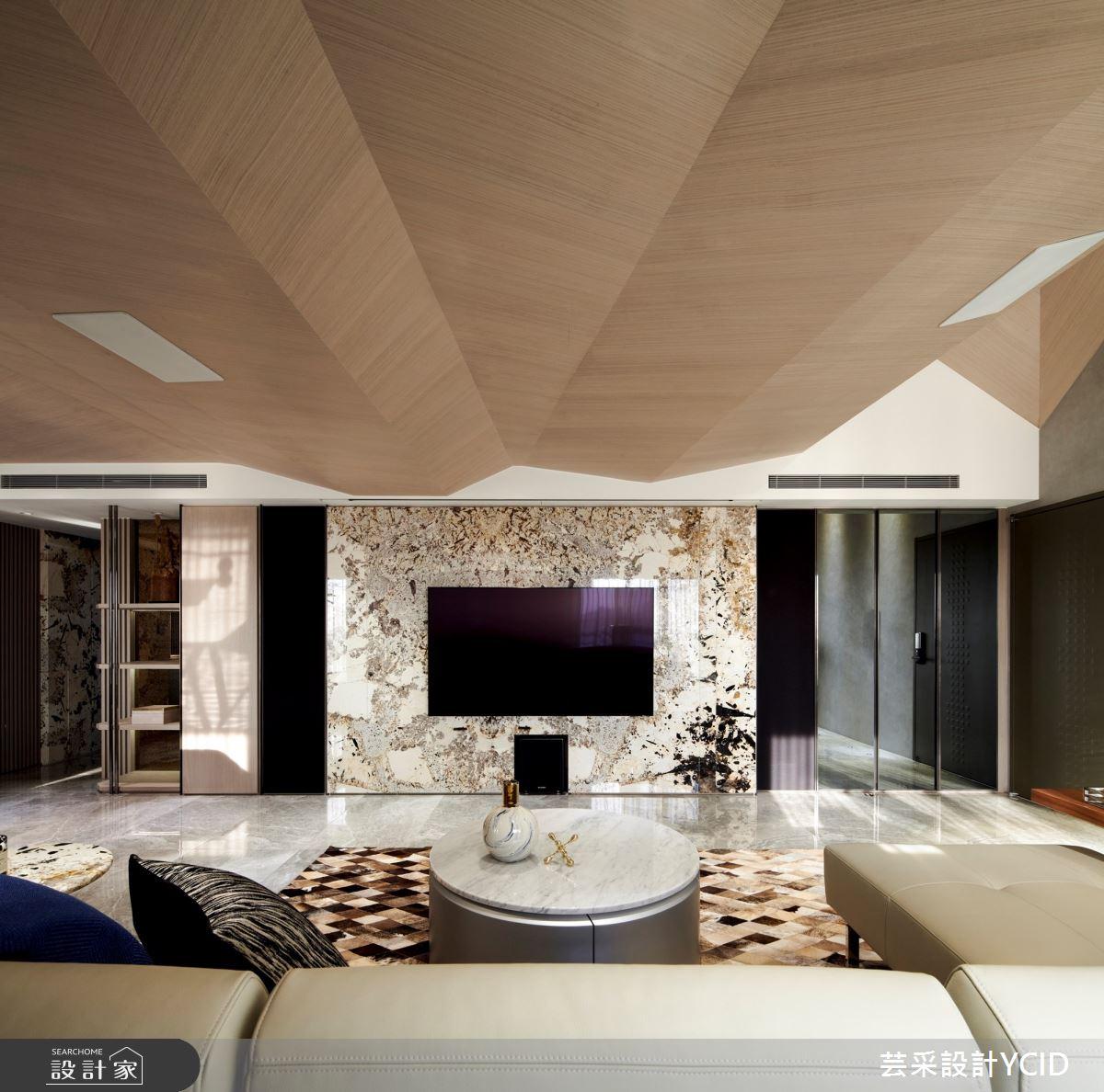 85坪新成屋(5年以下)_現代風客廳案例圖片_芸采創意空間設計公司_芸采_11之3