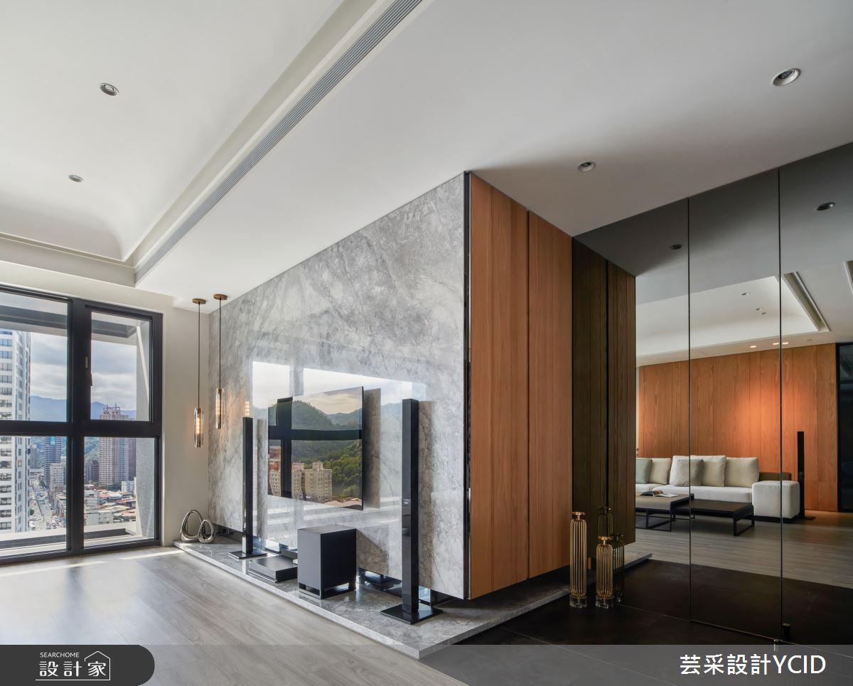 35坪新成屋(5年以下)_混搭風客廳案例圖片_芸采創意空間設計公司_芸采_12之2