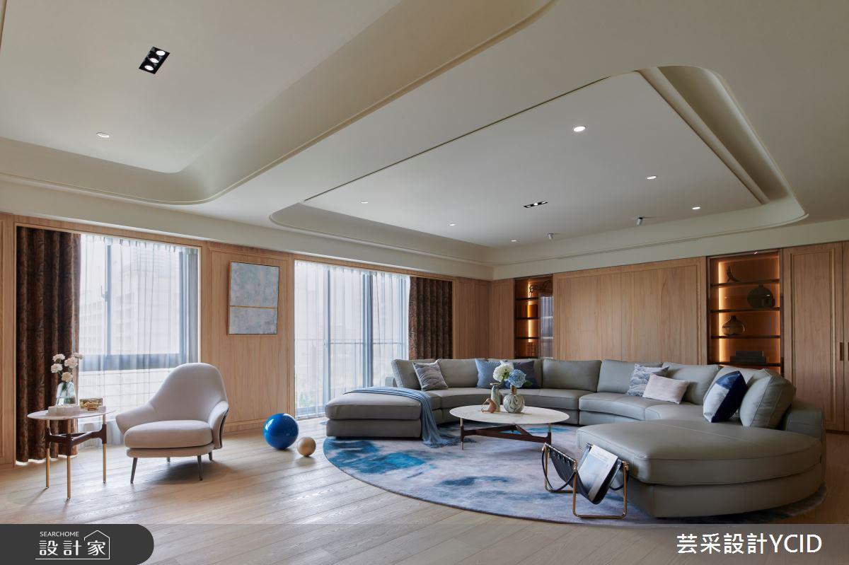 65坪中古屋(5~15年)_混搭風客廳案例圖片_芸采創意空間設計公司_芸采_13之2