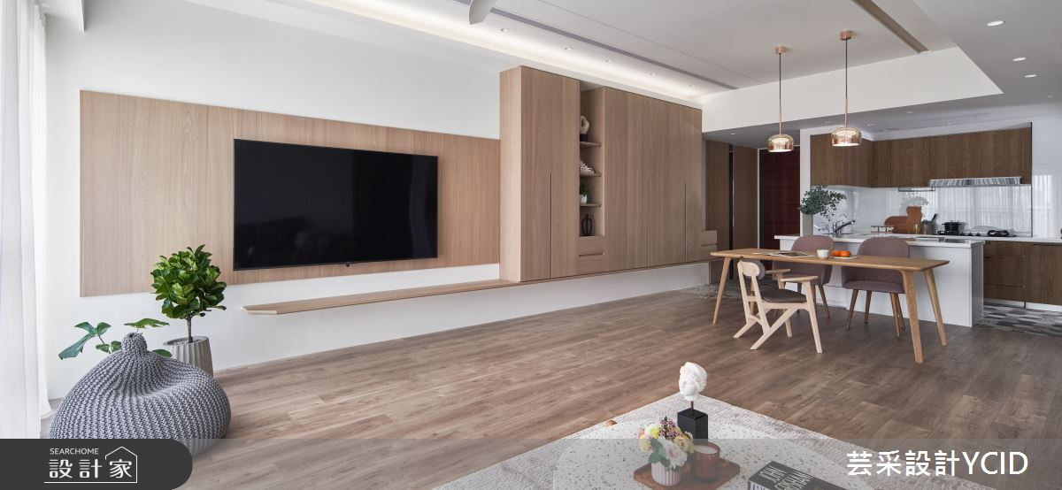 45坪新成屋(5年以下)_混搭風案例圖片_芸采創意空間設計公司_芸采_14之2
