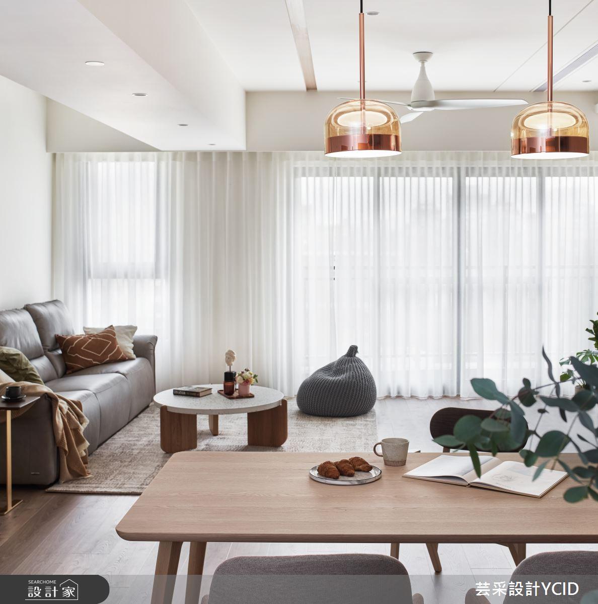 45坪新成屋(5年以下)_混搭風案例圖片_芸采創意空間設計公司_芸采_14之8