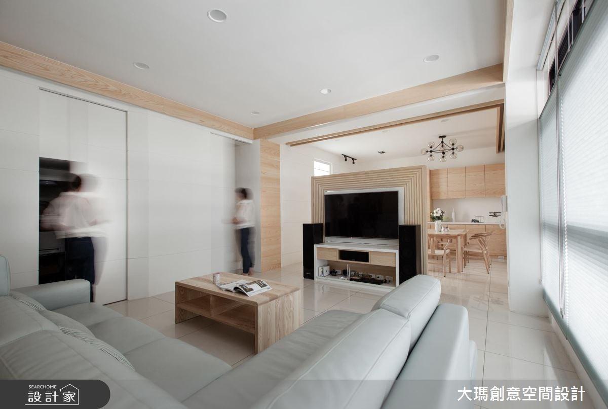 45坪新成屋(5年以下)_北歐風案例圖片_大瑪創意空間設計有限公司_大瑪_03之4