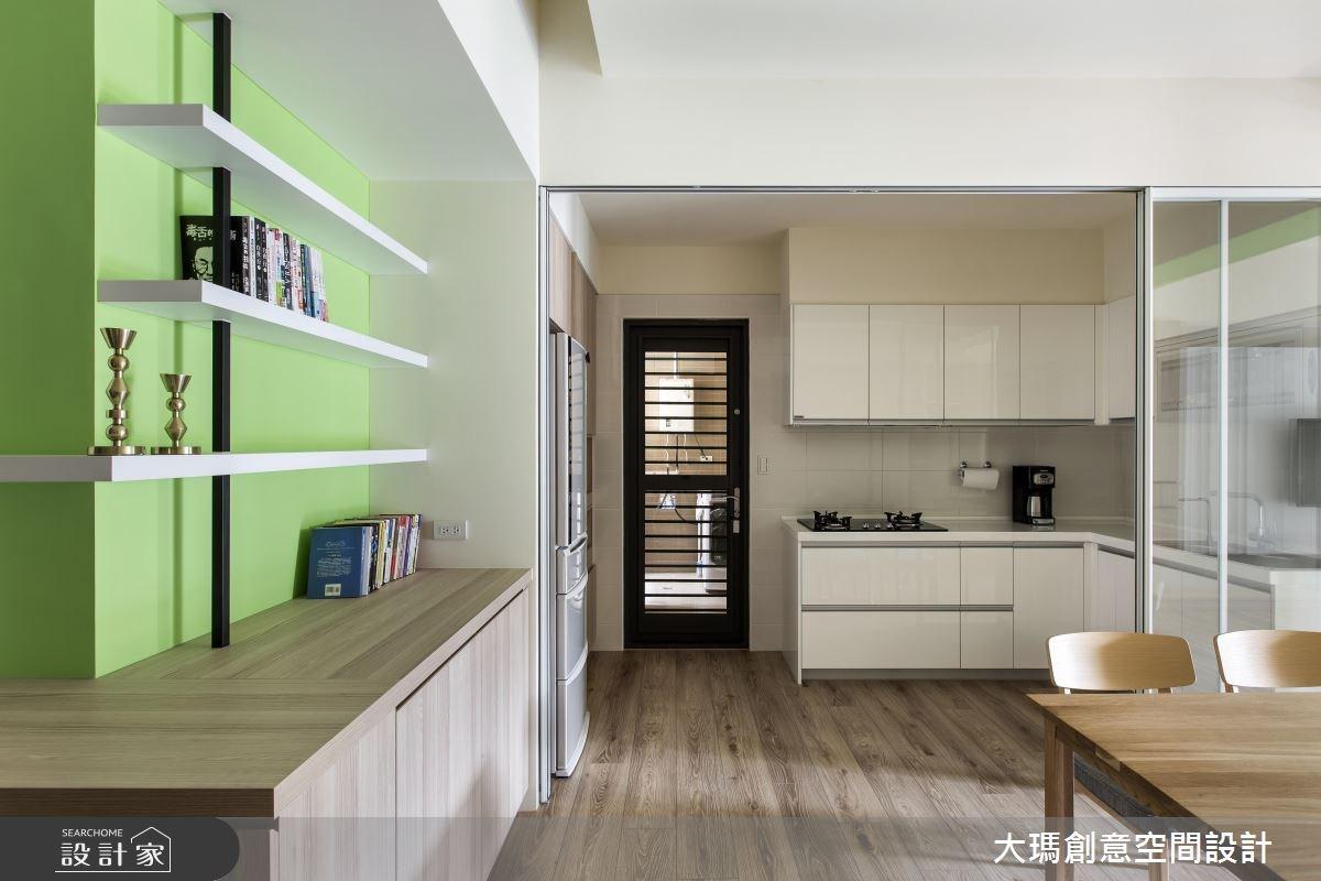 25坪新成屋(5年以下)_北歐風廚房案例圖片_大瑪創意空間設計有限公司_大瑪_04之2