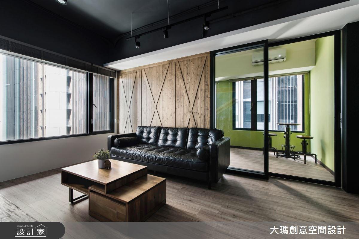 18坪新成屋(5年以下)_工業風客廳案例圖片_大瑪創意空間設計有限公司_大瑪_05之4