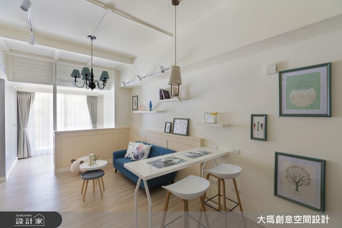 19坪新成屋(5年以下)_北歐風客廳案例圖片_大瑪創意空間設計有限公司_大瑪_09之1