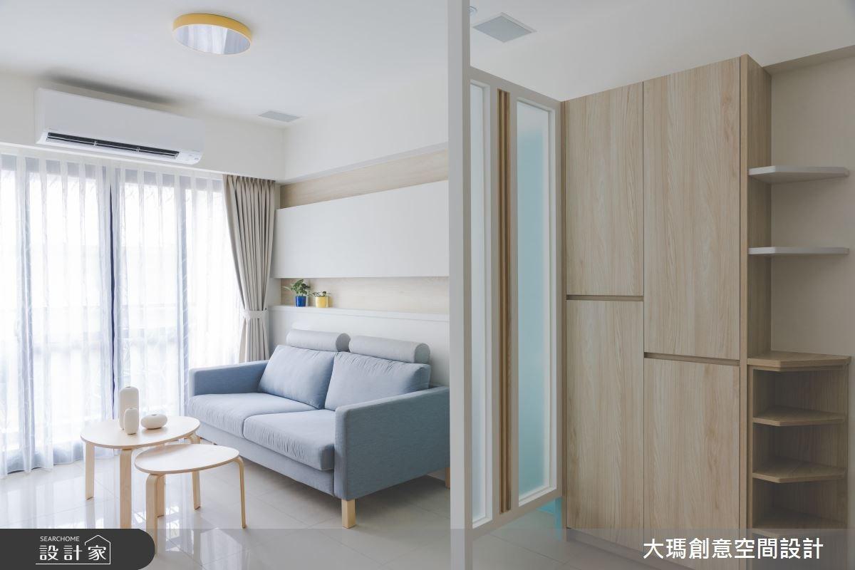 24坪新成屋(5年以下)_簡約風客廳案例圖片_大瑪創意空間設計有限公司_大瑪_11之4